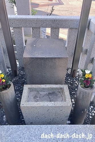 仏足石(大須万松寺)