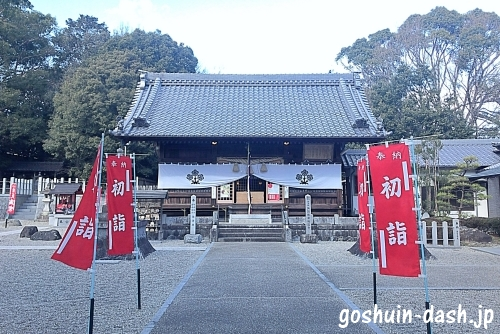沓掛諏訪神社拝殿