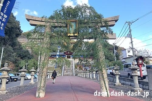 広島東照宮の石鳥居
