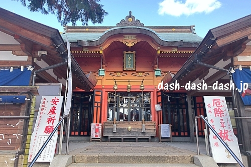 広島東照宮の拝殿