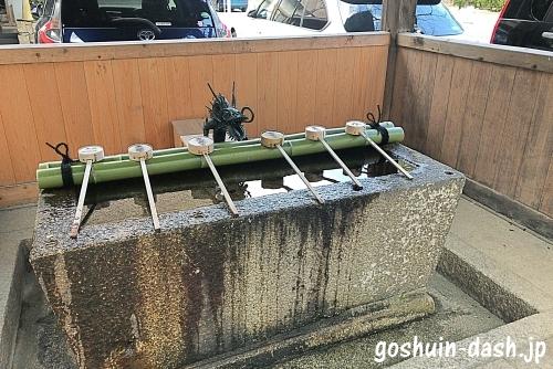 名古屋東照宮の手水舎