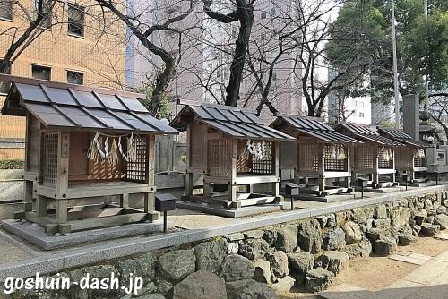 那古野神社の摂末社