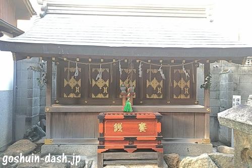 松山神社(名古屋)末社(猿田彦社・天神社・加茂社・津島社・秋葉社)01