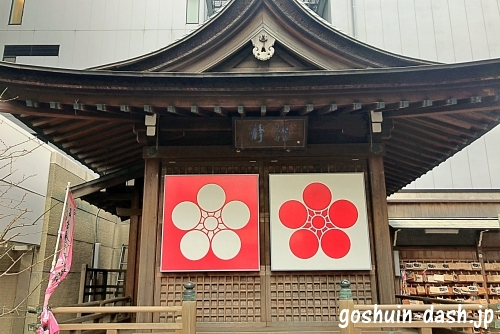 桜天神社の神楽殿