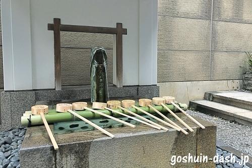 桜天神社の「天神の井戸」と「うそ」