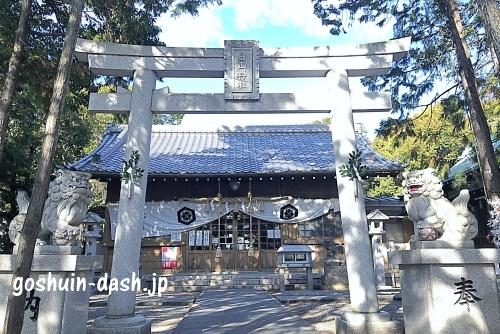 小幡白山神社(名古屋市守山区)本殿