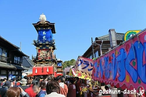 犬山祭の車山(山車)01