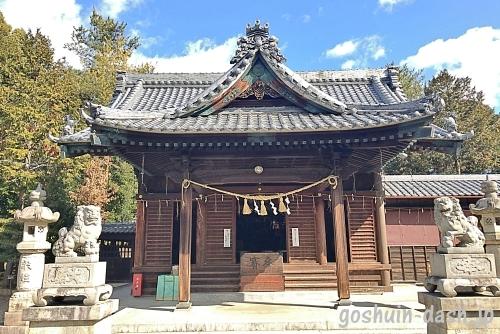 八柱神社(岡崎市)の拝殿