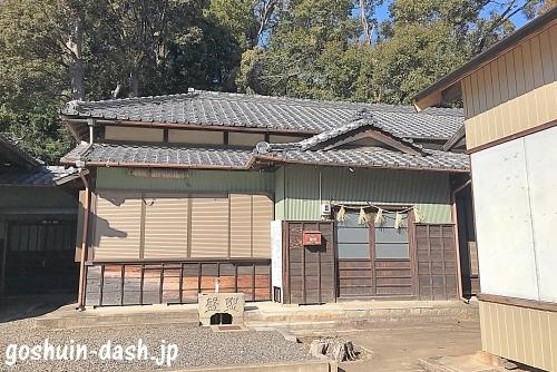 甲山八幡宮(岡崎市)の社務所
