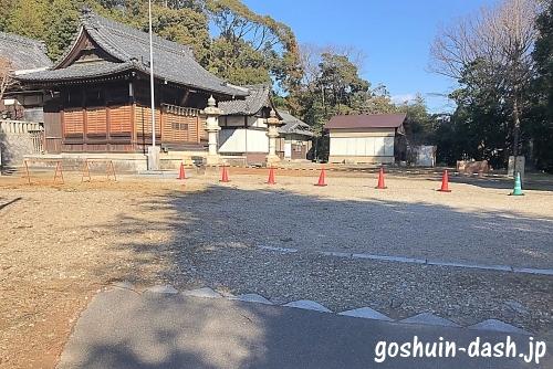 甲山八幡宮(岡崎市)駐車場
