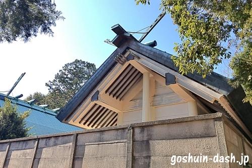 稲前神社(岡崎市)の本殿