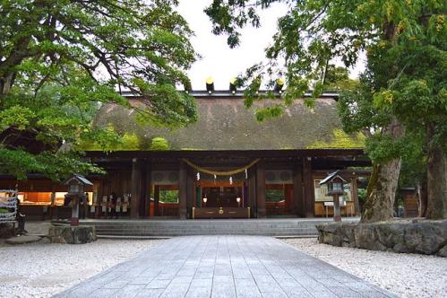 籠神社 拝殿