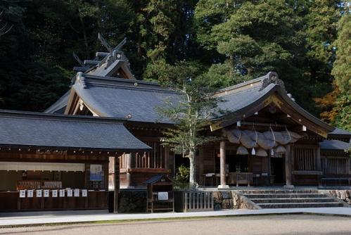 熊野大社 拝所