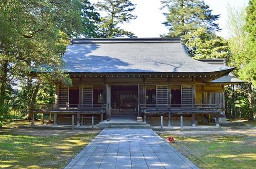 倭文神社 (湯梨浜町) 拝殿