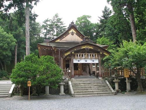 宇倍神社 社殿