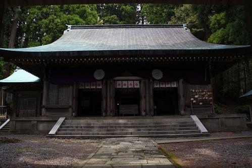 度津神社 拝殿