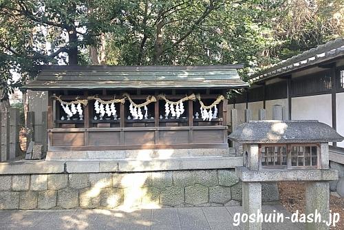 本土神社末社(金比羅神社・出雲神社・荒神神社・稲荷神社・北野神社)
