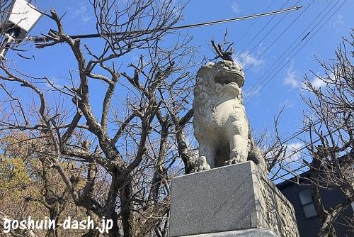 岡崎天満宮の狛犬