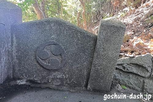 甲山八幡宮(岡崎市)右三つ巴紋