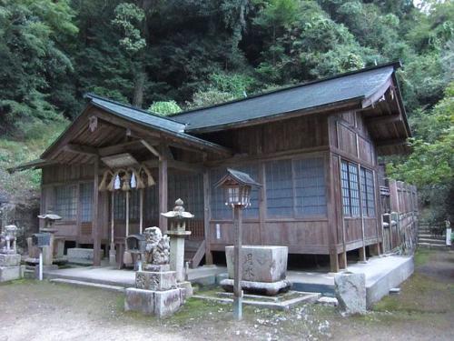 天別豊姫神社 境内