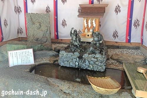 金神社(山田天満宮境内)銭洗い