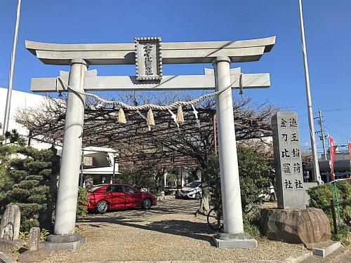 徳王神社(岡崎市)の鳥居