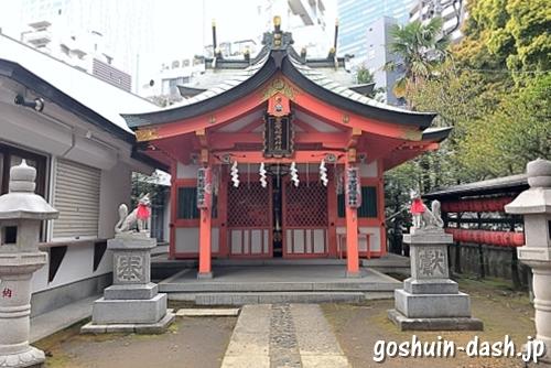 豊栄稲荷神社の拝殿