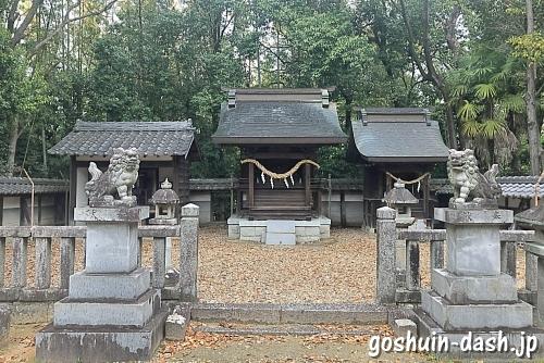 小坂神明社の本殿