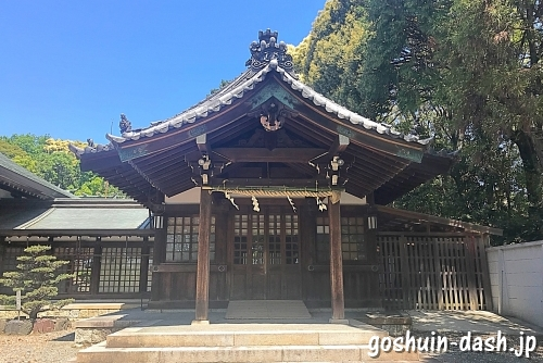 成海神社の参集殿
