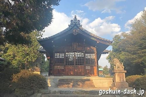 八幡神社(みよし市・黒笹駅すぐ)にお参りしたよ【聖徳太子が由緒に登場】