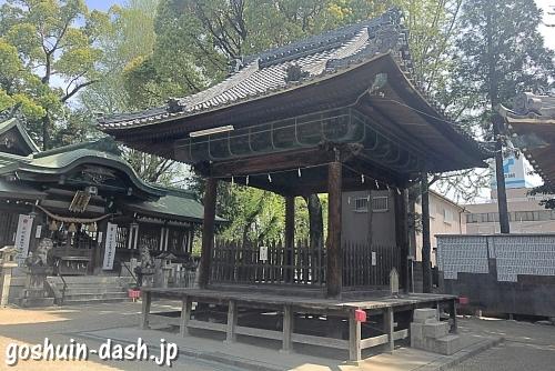 挙母神社の神輿殿