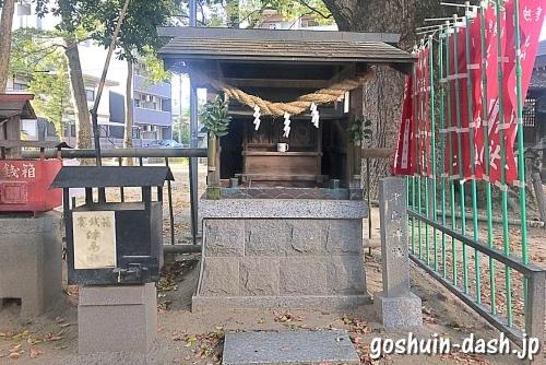 津島神社(豊田市駅近く若宮八幡社境内)