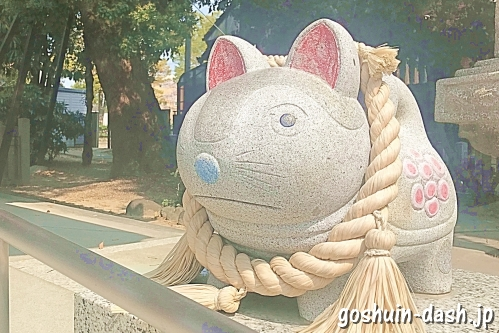 大井神社(名古屋市北区)安産犬張子