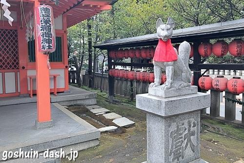 豊栄稲荷神社の狐
