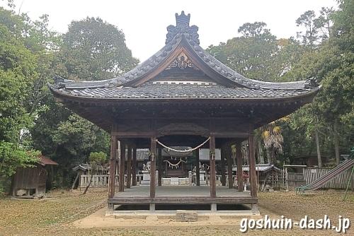 小坂神明社(豊田市小坂町)にお参りしたよ【豊田市駅から徒歩13分】
