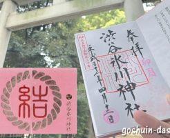 渋谷氷川神社(東京都渋谷区)の御朱印と御朱印帳