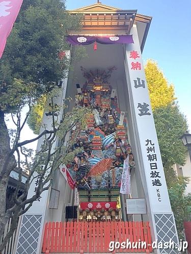 櫛田神社(福岡市博多区)の飾り山笠