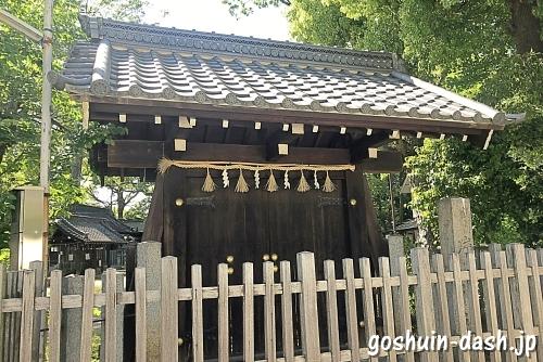 片山神社(名古屋市東区)神門