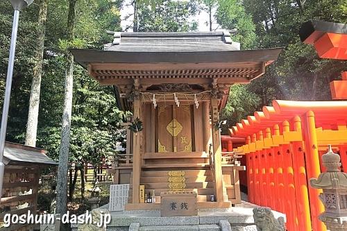 神明社(針名神社末社)