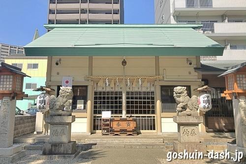 赤塚神明社(名古屋市東区)拝殿