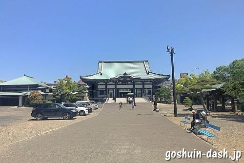 覚王山日泰寺の境内