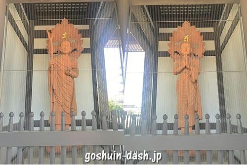 阿南尊者と迦葉尊者(覚王山日泰寺)