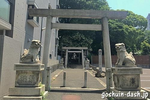 日置神社(名古屋市中区)西鳥居
