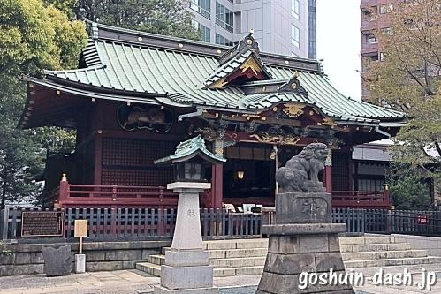 金王八幡宮(渋谷区)拝殿/社殿