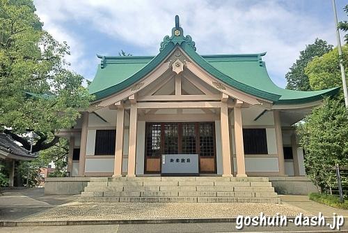 新栄白山神社(名古屋市中区)拝殿(社殿)