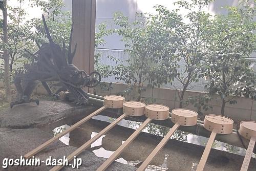 泥江縣神社(名古屋)の手水舎