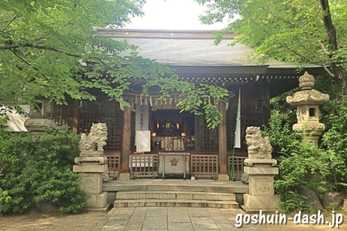 冨士浅間神社(富士浅間神社・名古屋市西区)拝殿(社殿)