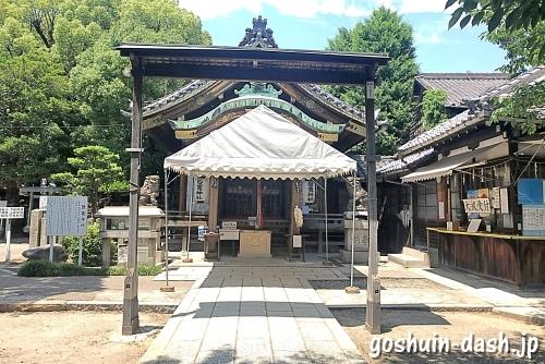 鹽竈神社(名古屋市中川区)の拝殿/社殿