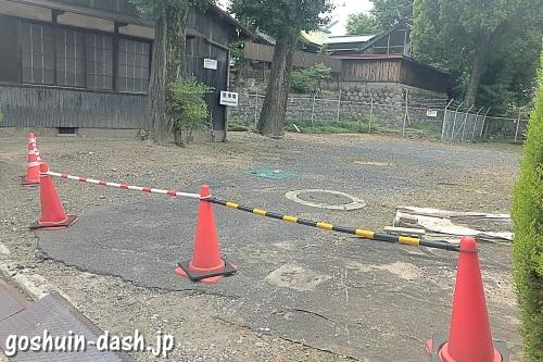 羊神社(名古屋市北区)参拝者用駐車場