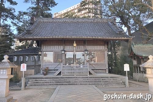 菅生神社(岡崎市)拝殿/社殿